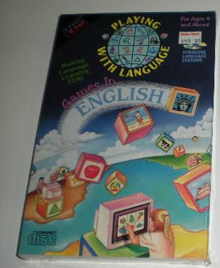 Playing With Language: Games in English