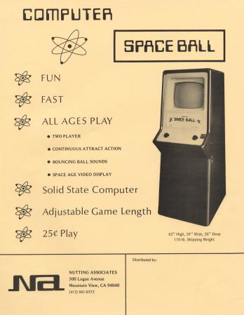 Computer Space Ball
