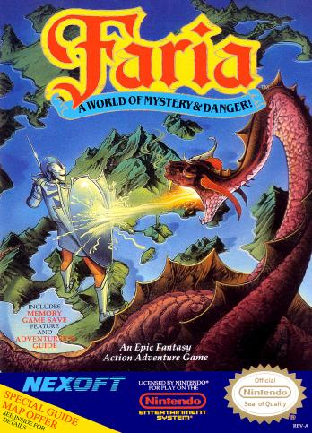 Faria: A World of Mystery and Danger!