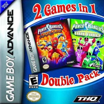 2 Games in 1 Double Pack: Power Rangers Ninja Storm + Power Rangers Time Force