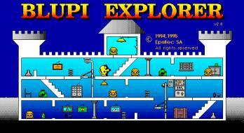 Blupi Explorer