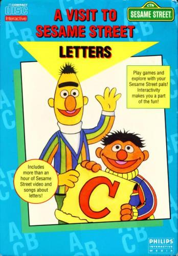 A Visit to Sesame Street: Letters