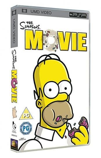 UMD Video Movie: The Simpsons Movie