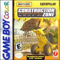 MatchBox Caterpillar Construction Zone