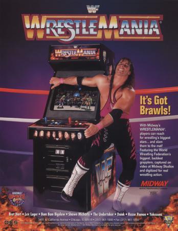 WWF WrestleMania: The Arcade Game