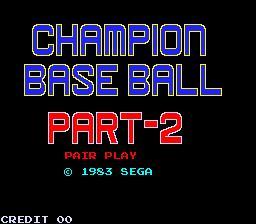 Champion Base Ball Part-2