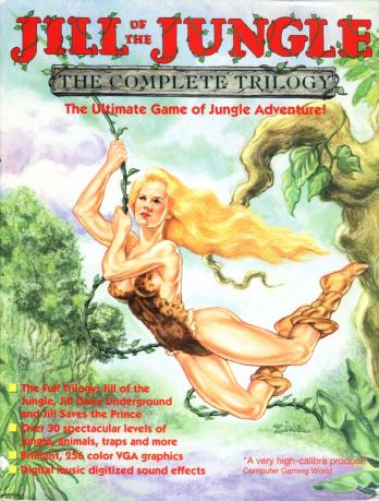 Jill of the Jungle: The Complete Trilogy