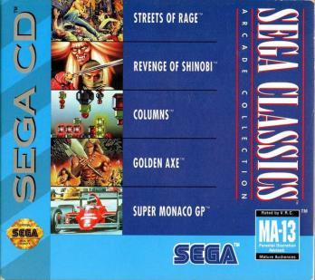Sega Classics Arcade Collection