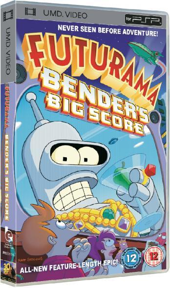 UMD Video Movie: Futurama: Bender's Big Score