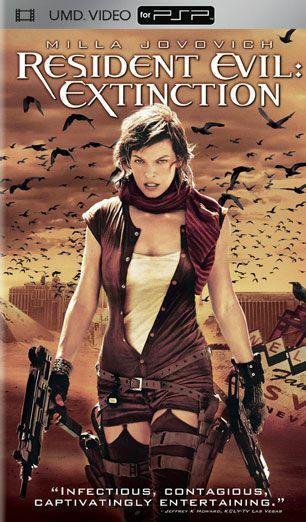 UMD Video Movie: Resident Evil: Extinction