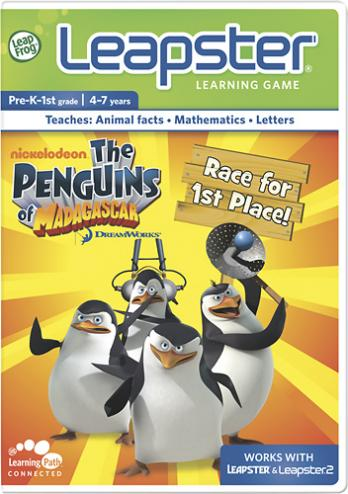 The Penguins of Madagascar: Race for 1st Place!