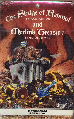 The Sledge of Rahmul and Merlin's Treasure