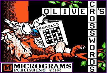Oliver's Crosswords