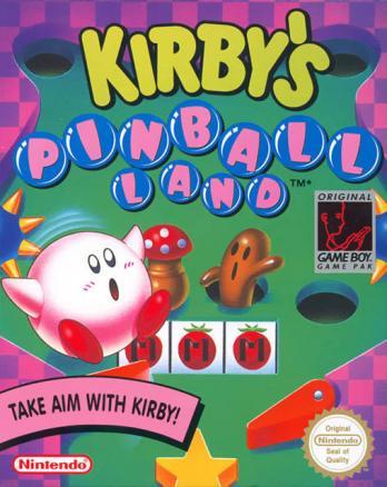 Kirby's Pinball Land game