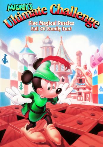 Mickey's Ultimate Challenge game