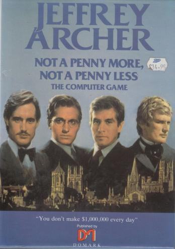 Jeffrey Archer: Not a Penny More, Not a Penny Less - The Computer Game