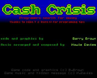 Cash Crisis: Programmers Search for Money