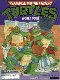 Electric Crayon Deluxe: Teenage Mutant Hero Turtles: World Tour