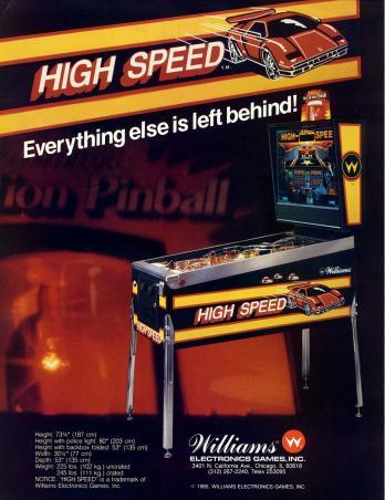 High Speed game