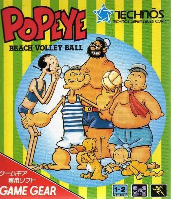 Popeye Beach Volley Ball