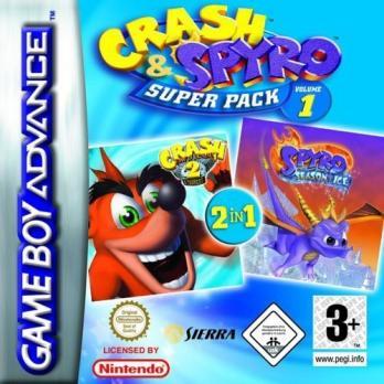 Crash & Spyro Super Pack Volume 1