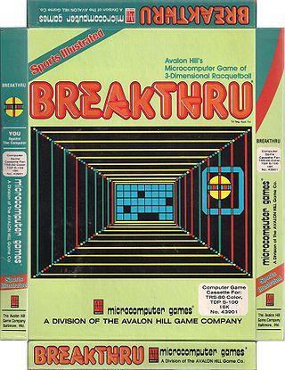 3-D Brickaway game