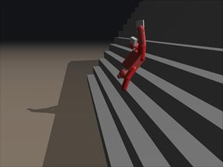 Porrasturvat - Stair dismount