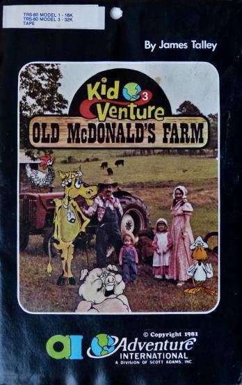 Kid-Venture 3: Old McDonald's Farm