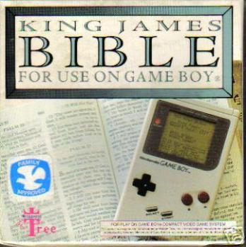 King James Bible For Use On Game Boy