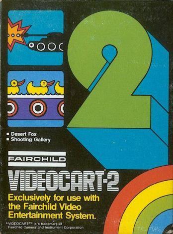 Videocart-2: Desert Fox, Shooting Gallery