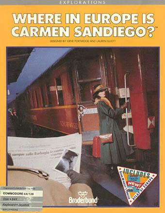 Where in Europe is Carmen Sandiego?