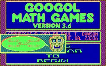 Googol Math Games