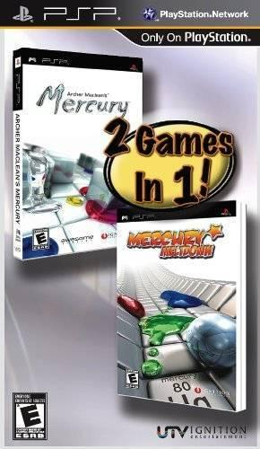 2 Games in 1!: Archer Maclean's Mercury / Mercury Meltdown