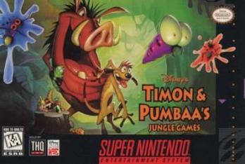 Disney's Timon & Pumbaa's Jungle Games