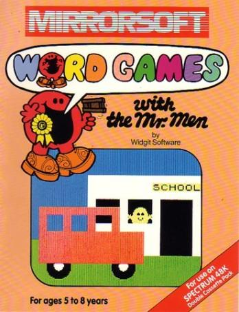 Word Games with the Mr. Men