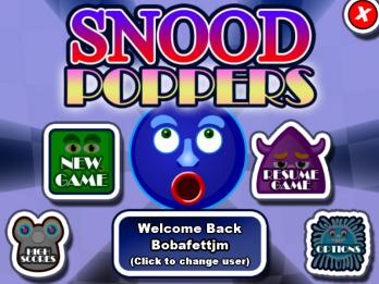 Snood Poppers