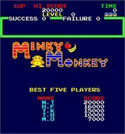 Minky Monkey