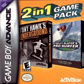 2 In 1 Game Pack: Tony Hawk's Underground + Kelly Slater's Pro Surfer
