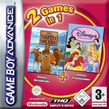 2 Games In 1: Disney's Brother Bear + Disney Princess