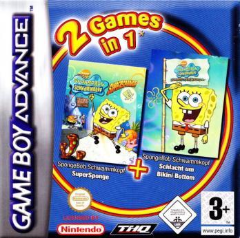 2 Games in 1: SpongeBob SquarePants: Battle for Bikini Bottom + SpongeBob SquarePants: Supersponge