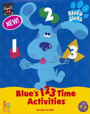 Blue's 123 Time Activities game