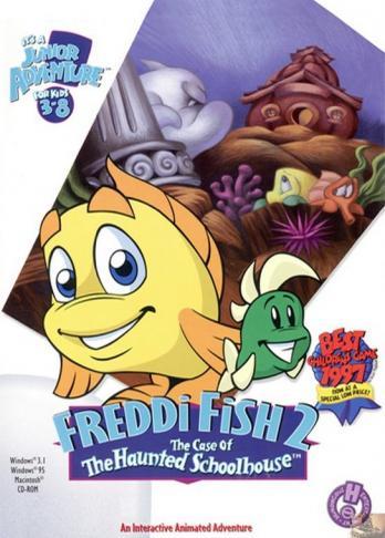 Freddi Fish 2: The Case of the Haunted School House