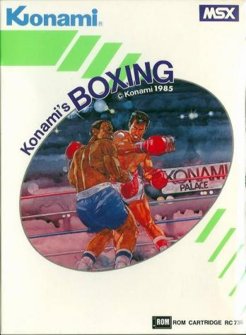 Konami's Boxing game