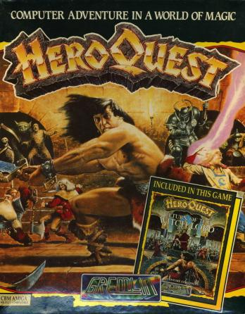 HeroQuest + HeroQuest: Return of the Witch Lord