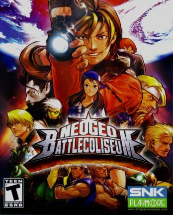 NeoGeo Battle Coliseum game
