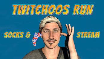 Twitchoos Run: Socks & Stream
