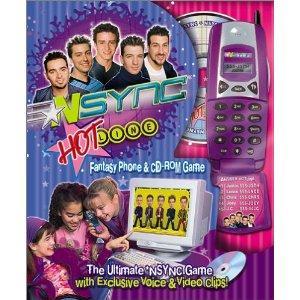 *NSYNC Hotline Phone and Fantasy CD-Rom Game game