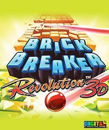 3D Brick Breaker Revolution