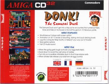 Donk!: The Samurai Duck