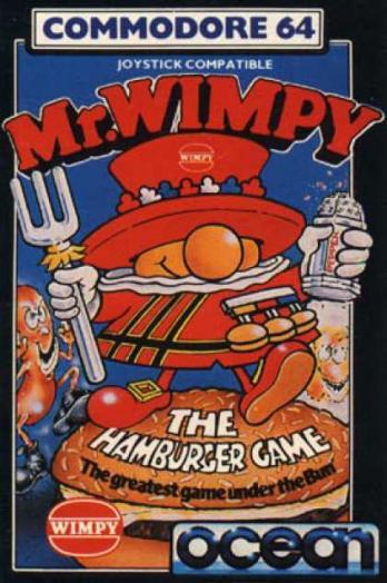 Mr. Wimpy: The Hamburger Game